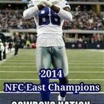 What an ❌mas gift! @dallascowboys & @DezBryant are NFC East Champions!!! #CowboysNation #MerryXmas @NewSchoolSS http://t.co/tGaxkYGsPN
