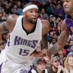 Halftime: Kings trail Lakers, 59-52. DMC 15pts 5rebs 2stls, DC7 12pts, Gay 9pts 3asts, B-Mac 8pts. #SacramentoProud http://t.co/EeP2Cg54uH