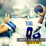 The Dallas Cowboys clinch the division with a win over the Colts! http://t.co/vJq5ChKt3n