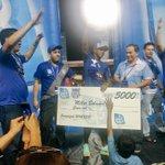 Felicidades Campeones!! Un Gigante Miller!! #FinalDeGigantes #EmelecBicampeon @CSEmelec http://t.co/jetBW4ygkH