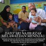 PM @NajibRazak melawat & meninjau kemudahan di pusat pemindahan banjir di Kuantan. http://t.co/gwg8nSdvNv @SoloRideJer
