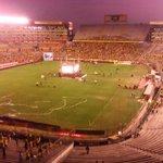 En el 2 a 0 el #Monumental quedó vacío @Emelec @CSEmelec http://t.co/RfDv5X6HmC
