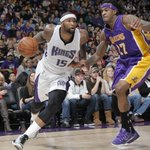 Boogie Cousins (29 pts, 14 rbs) puts the team on his back & powers the @SacramentoKings to a 108-101 over @Lakers. http://t.co/rq6NsxxGoP