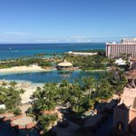 View from the room! Lets make this a yearly event with @WKUFootball and @TheBahamasBowl http://t.co/10q0JqD2d8