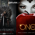 REQUESTED RT for Game of Thrones FAV for Once Upon a Time http://t.co/c1SFVmjGRD