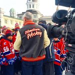 Thanks for having us, #Kingston! You were an amazing stop on the #HometownHockey tour! Hope you had fun this weekend! http://t.co/gUl7V9qxg5