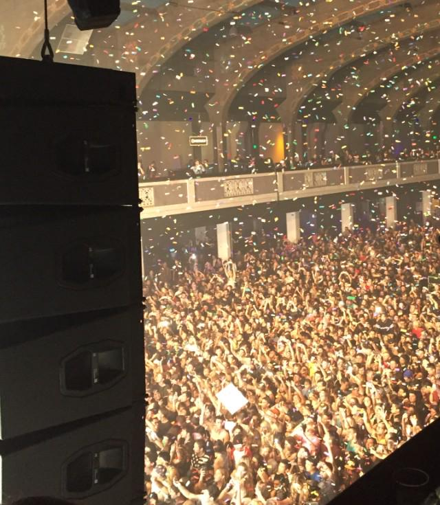 Round 2 tonight singing #Hurricane w @DILLONFRANCIS at @ShrineLA #SOLDOUT (again) lets go in http://t.co/5DP2ti8jA4
