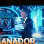 Angela Torres la GRAN ganadora de tu cara me suena !!! @angelatorresok que felicidad, orgullo,emoción, TODO!!<333 http://t.co/9Q8sC06XfJ