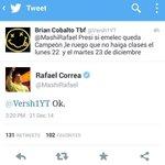 ¡¡¡Cumple tu palabra!!! @MashiRafael ???????? http://t.co/4kPYSpuCQm