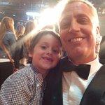 Con Juan el hijo de @Flor_de_P future estrella! #TuCaraMeSuena http://t.co/0EoTFMEm0b