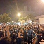 Festejos de la hinchada del @CSEmelec #EmelecBicampeon @emelec http://t.co/mDOJTuhMoO