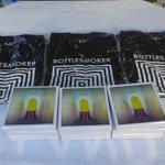 Ayo yang mau beli CD Hypnagogic dan T-shirt tersedia di booth kami :) cc : @bottlesmoker http://t.co/MNBesDl8ez