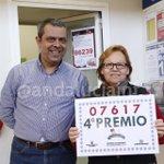 La administración de Carrefour norte de #Jerez ha vendido un boleto de un cuarto premio #LoteriaRTVE http://t.co/mx7lo6fFSw