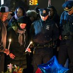 Slain NYPD officers remembered for community, family dedication http://t.co/weYnitQe2n http://t.co/WBx4Hewxcj