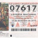 #LoteríadeNavidad | ¡Ojo! Parte del cuarto premio, el 07617, muy repartido por #Málaga. http://t.co/LaWVZKl0Il http://t.co/8MCh6ptgkm