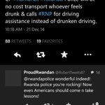 Then I saw Rwanda Police saying will drive anyone who is drunk. 😥😥😥 http://t.co/uKUvn03nf2