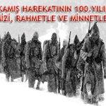 """Sarıkamışta Şehit Olan Aziz Şehitlerimizi, 100. Yılında Rahmet ve Minnetle Anıyorum. http://t.co/pvoB1zZ3DV"""""""