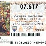 El número 07617 (cuarto premio) ha caído en Jerez. Administración: Carrefour Norte.  ¡Enhorabuena! http://t.co/F1vrTJ43TA