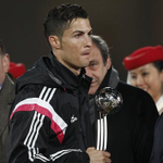 """Ronaldo snubs UEFA chief Platini after Real Madrid win Club World Cup - http://t.co/2Uld9D57IU http://t.co/77IJIdBlbN"""""""