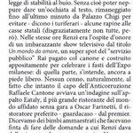 Da non perdere questo pezzo di @a_padellaro su @matteorenzi, un ibrido tra un governatore caucasico ed il mago zurlì! http://t.co/1om3VJRoei