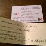Venti euro e zero controlli per una tessera falsa del Pd  http://t.co/fBCpTxCfr9 http://t.co/fJp6dOc5J5
