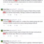 IK has condemned TTP previously on many occasions. Please re-tweet to clear the air of false propaganda http://t.co/Ad5t651qbj