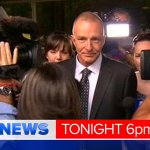 Henry Keogh walks FREE from court after 19 years behind bars. @benavery9 reports LIVE in #9NewsAt6. #9Newscomau http://t.co/98FGKEAQMH