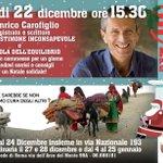 #Roma oggi alle 15.30 #NATALE per @emergency_ong http://t.co/osLsjfmlGL