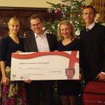 Donated Ida-Tallinna Keskhaigla 4901 Eur raised by @HMAChrisHoltby, @ukinestonia and St George's Day Society of EST http://t.co/bSN2JXz8dT