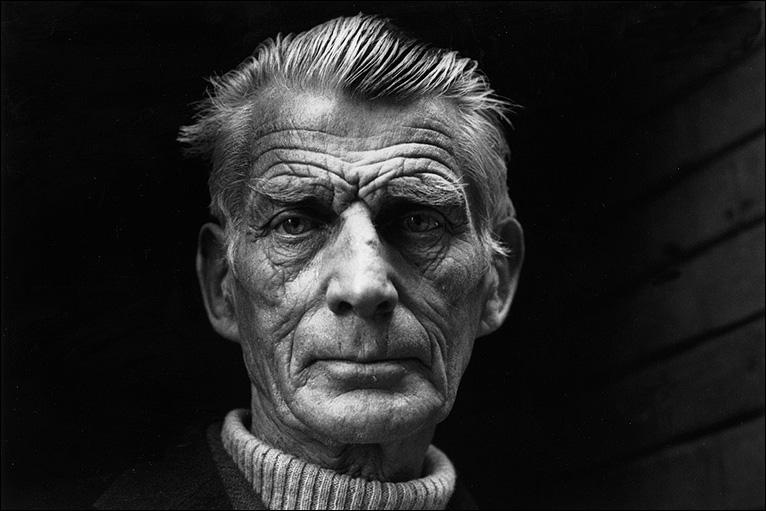 The late Jane Bown's Beckett: one of the best photos of anyone ever. http://t.co/weeb3X4Mrp