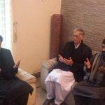 Imran Khan meeting with APS victim family #Peshawar #PeshawarAttack http://t.co/5e8VnjjXeV