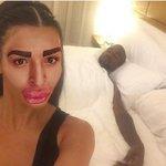 Kim Kardashian gasta 400 mil para ficar parecida com homem que gastou 400 mil para ficar parecido com Kim Kardashian http://t.co/NI3KIyCyRA