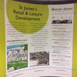 You can see the #StJamesDover display @Talk2Gateway Castle Street #Dover and @DoverDC reception http://t.co/Rpv8ZVdqn0