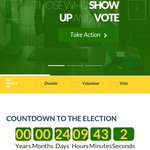 Not sure who is running @ThisIsBuhari handle but can U please get the election date right on http://t.co/y00edg8akE http://t.co/tWzxB7C8WF