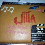 #Jilla Success Party Cake.. ???????? #JILLA_KATHTHIBlockbusterYearOfVIJAY http://t.co/obUaUlLRZk