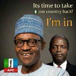 I have resolved to voting and canvassing for votes for Team APC all the way in 2015. Vote Buhari, vote APC. God bless http://t.co/U6a2pdjy8e