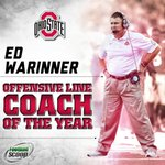 Best OL coach in the country. Well deserved! http://t.co/4RFG1juwOJ