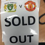 NEWS: Tickets for Town's FA Cup 3rd round tie against @ManUtd have now sold out. #YTFC http://t.co/0Eq2zC7Hkz