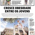 O crescimento da obesidade entre os jovens é o destaque do Diario de Pernambuco desta segunda-feira. Confira a capa: http://t.co/dpQwB0QirB
