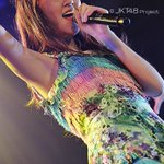 She's like a merry butterfly, riding with glittering wind on the catwalk. Happy 18th birthday @Tata_JKT48 ! http://t.co/YxkJCCf4e1