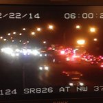 Accident SR-826 EB at NW 37th Ave. Two lanes blocked. #Traffic #Miami http://t.co/uWjpC1jGl7