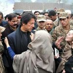 IK visiting #PeshawarAttack victims families... and sharing his commitment to eliminate terrorism from Pakistan IA. http://t.co/ebcSbr80K4