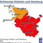 #UNWETTERWARNUNG vor ERGIEBIGEM DAUERREGEN in den nächsten 48 Stunden: http://t.co/AF9kMOCWXY #Feuerwehr #Hamburg http://t.co/HYqUOcbVHG