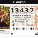 ÚLTIMA HORA | ¡¡EL GORDO!! Es el 13437 http://t.co/icfmLttlny #LoteríadeNavidad http://t.co/a6gTwy5W5d