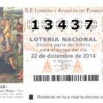 #ÚLTIMAHORA ¡SALIÓ EL GORDO! El 13.437, premiado con 4.000.000 de euros #LoteríadeNavidad http://t.co/vINMAY8far http://t.co/xOmbhOvoQo