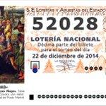 ÚLTIMA HORA: El 52028, otro nuevo quinto premio del Sorteo de la #LoteriadeNavidad http://t.co/8HqCj3ph9Z http://t.co/5Ab09UI111