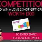 See in the New Year with the chance to win a £100 Love to Shop Voucher. Just Follow and RT!! #Competition #NewYear http://t.co/ipqPpisnGb