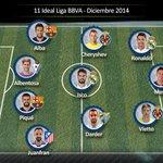 Kameni y @SergiDarder elegidos por la LFP.es para el XI IDEAL de diciembre de @LaLiga. http://t.co/JDLD0nejkx