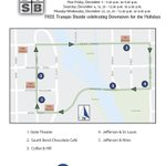 FREE Transpo Santa Shuttle in @DTSouthBend Mon, Tues & Weds from 12-4! http://t.co/4NGv3pjWj5