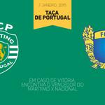 Famalicão, em Alvalade! O que achaste do sorteio da Taça de Portugal? http://t.co/gzXg4yKhba